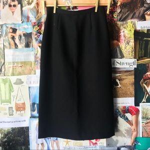 Kasper & Company Black Pencil Skirt